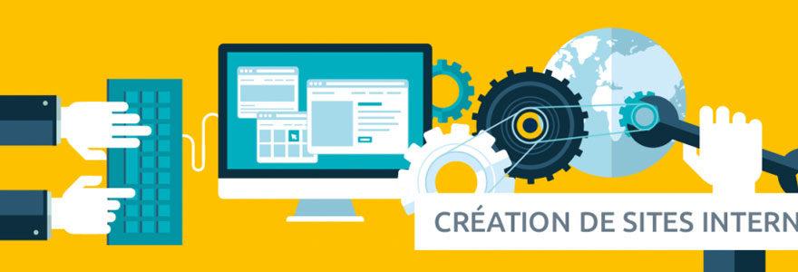 création de sites